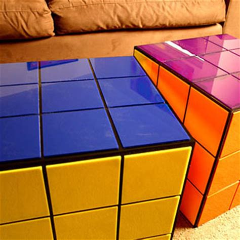 rubik s cube coffee table the green