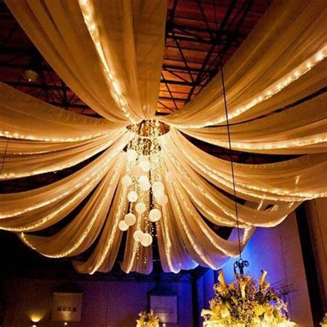 wedding ceiling draping kits 4 panel 20 quot hoop ceiling draping hardware kit for wedding