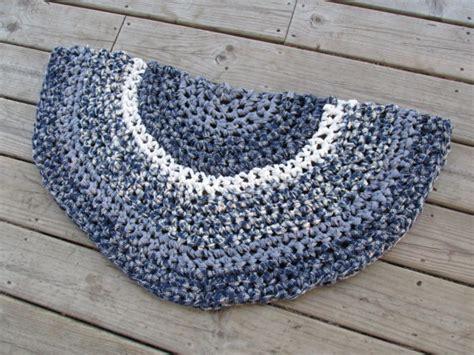 colonial half circle kitchen rug crochet 37 rag by