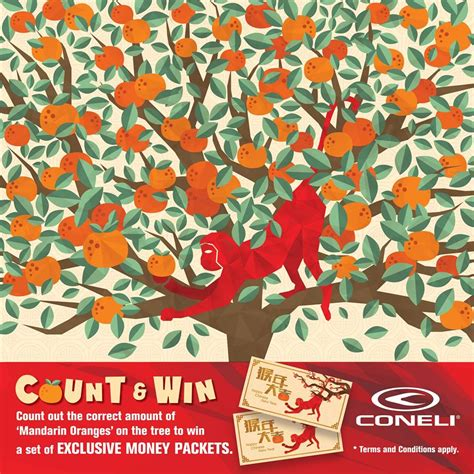 win money packet at coneli malaysia giftout free giveaways singapore - Win Money Contest Malaysia