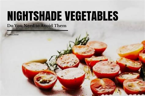 Nightshade Detox Symptoms 106 best images about nutrition tips on
