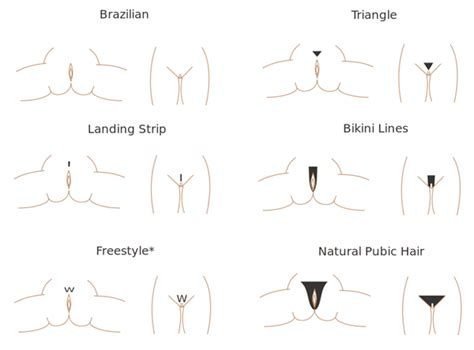 womens pubic hair trends different female pubic hair shaving styles looks