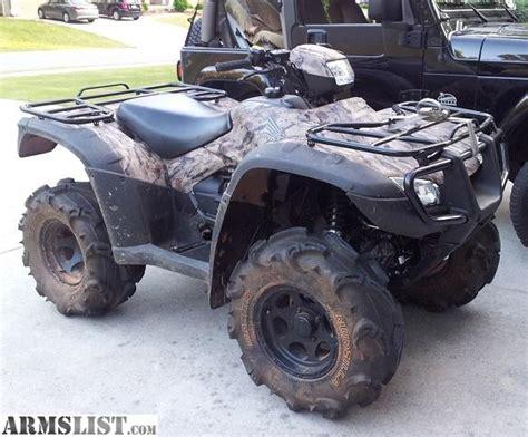 armslist for sale 2012 honda rubicon 4x4 power steering