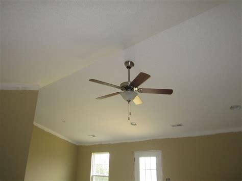 Sloped Ceiling Fans by Purchasing A Ceiling Fan Sloped Ceiling Made Easier