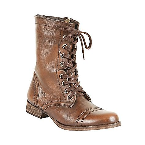 free shipping steve madden troopa s combat boots