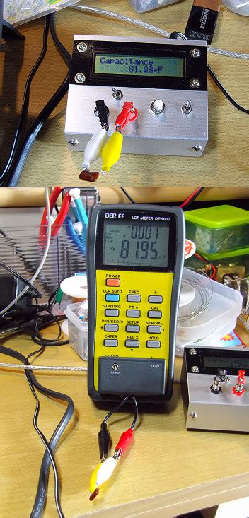 inductance meter homebrew どよよん現象 アマチュア無線 home brew lc meter