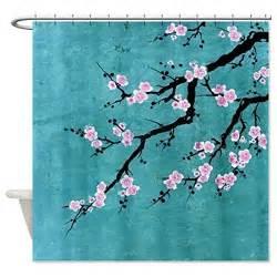 Cherry Blossom Curtains Cherry Blossom Shower Curtain