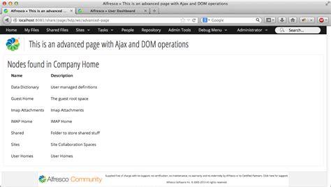 github tutorial advanced working with the new aikau framework in alfresco share 4 2