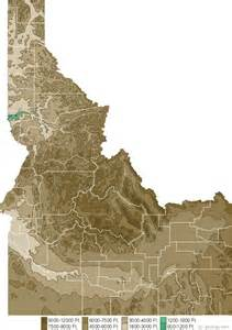 State Of Idaho Map by Map Of Idaho