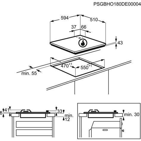 piano cottura terra di francia electrolux egs6414t piano cottura a gas 60 cm 4 fuochi