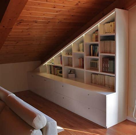 Librerie Per Sottotetto by Libreria Sottotetto Di Universo Legno Homify