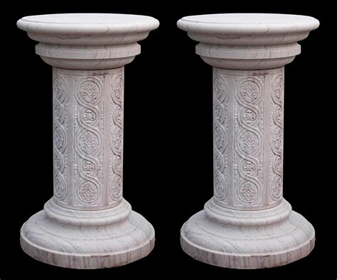 A Pedestal Marble Pedestal By Marblemaison