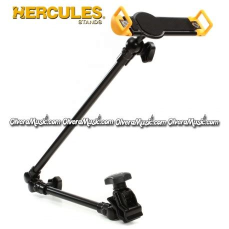 hercules tablet holder for keyboard stands olvera music