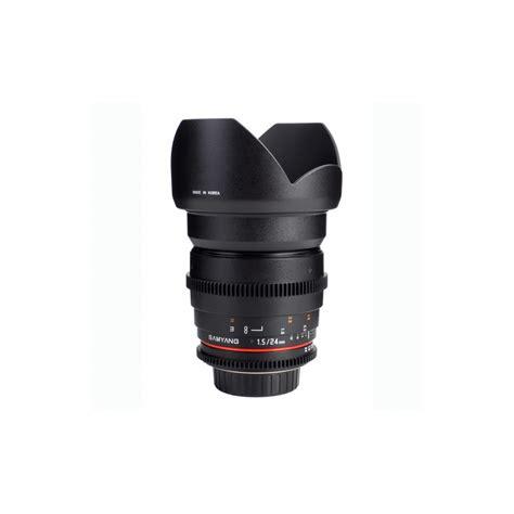Samyang 24mm T1 5 Vdslr buy samyang 24mm t1 5 ed as umc vdslr lens for canon