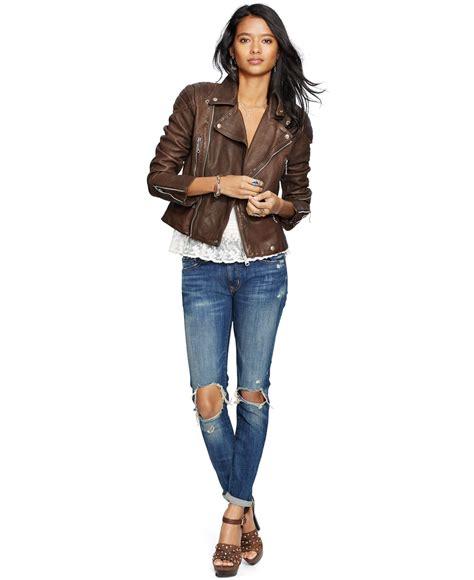 leather motorcycle coats brown leather motorcycle jacket coat nj