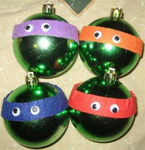 ninja turtles ornaments christmas pinterest
