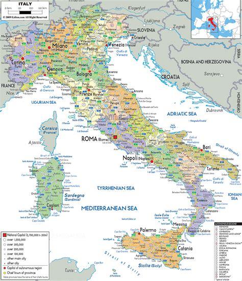 italia mapa pol 237 tico mapa de italia ciudades