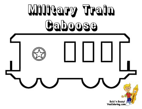 coloring page train caboose free coloring pages of train caboose