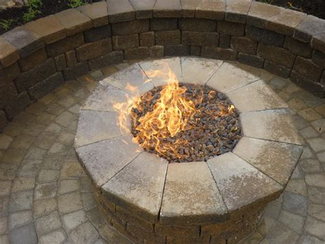 propane pits with glass rocks gas pit glass rocks pit design ideas