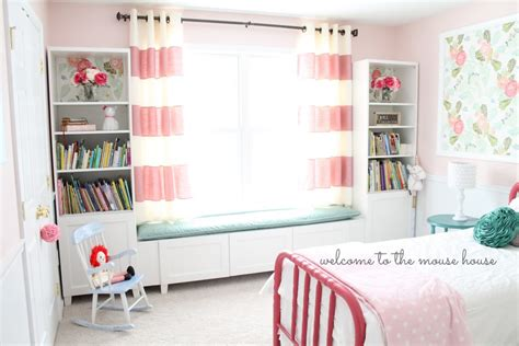 ikea hack window seat besta window seat for little girl room ikea hackers