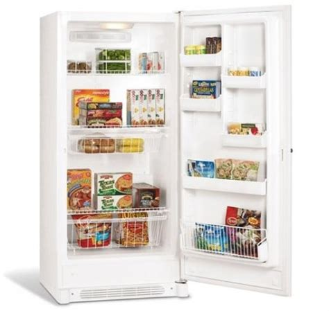 stand up freezer: get cheap frigidaire ffh17f7hw 16.6 cu