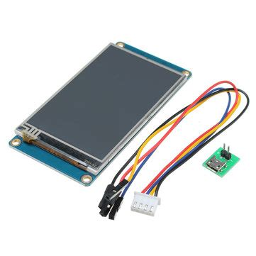 Nextion 2 8 Hmi Uart Lcd Tft Touchscreen 320x240px For Arduino Rasp 3 2 inch nextion hmi intelligent smart usart uart serial touch tft lcd screen module for
