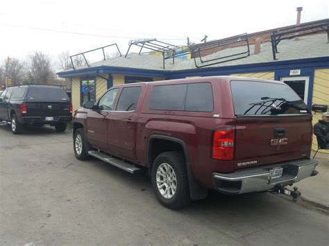 gmc z series maroon cer shell suburban toppers