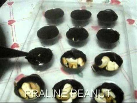 cara membuat donat bersalut coklat cara membuat coklat praline youtube