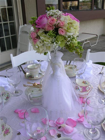 bridal shower table centerpiece ideas bridal tea