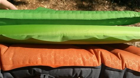 thermarest trail lite fox outfitters ultralight 100 mattress the gear