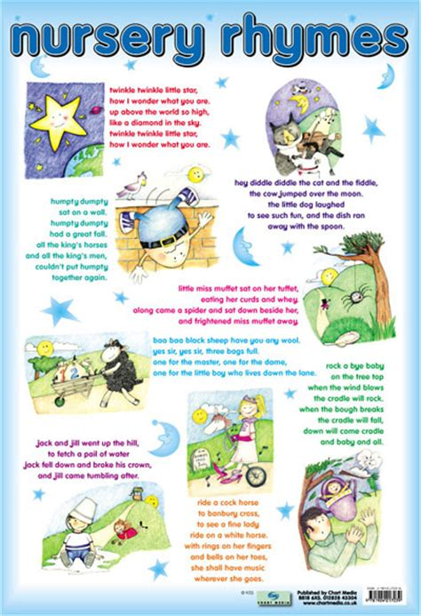 printable children s rhymes 8 best images of words to nursery rhymes printable
