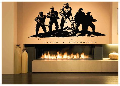 army wall decor wall room decor vinyl sticker mural decal