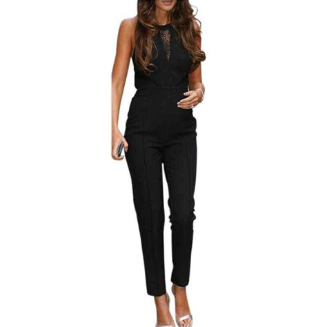 Wafy Set Jumpsuit By Sybill new arrival 2017 fashion womens jumpsuit sleeveless lace
