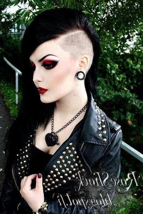 imagenes goticas de rock todo sobre los peinados goticos y sus diferentes estilos