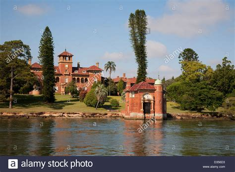 buy house in parramatta historic house rivendell on the banks of the parramatta river sydney stock photo