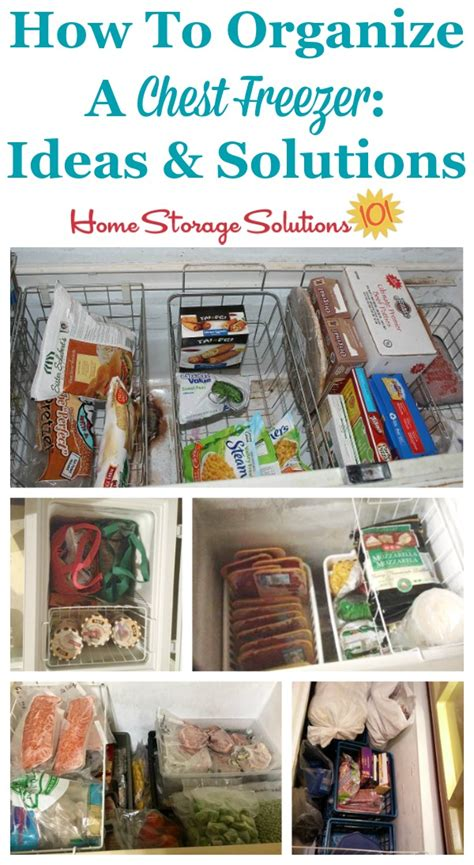 how to organize a house organizing a chest freezer ideas solutions