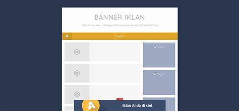 cara membuat html responsive cara membuat iklan responsive melayang dengan tombol close
