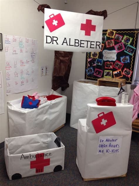 116 best images about dramatic play doctors office on