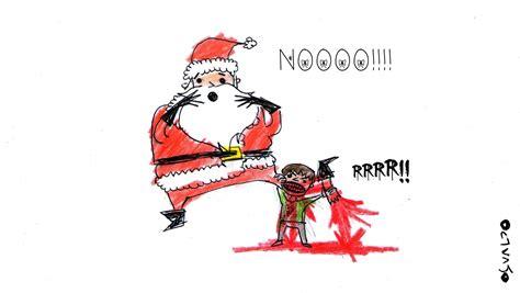 Imagenes Navidad Sangrienta | dibujos propios una sangrienta moraleja de navidad taringa