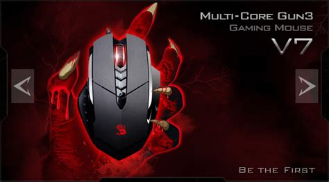 Mouse Gaming Bloody V7 bloody multi gun3 gaming mouse v7