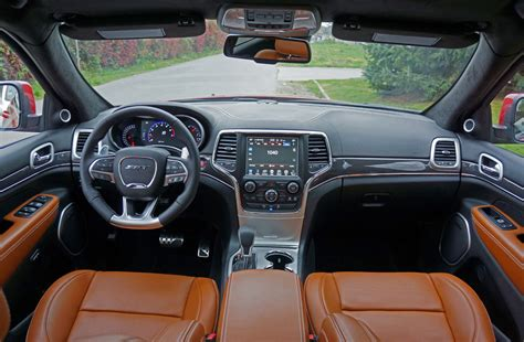 srt jeep 2016 interior 2016 jeep grand srt road test review the car