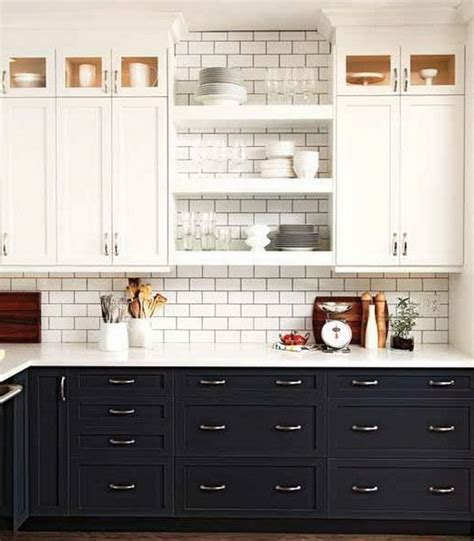 stylish two tone kitchen cabinets for your inspiration hative gray lower kitchen cabinets quicua com