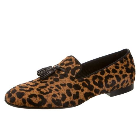 leopard print loafers mens tom ford new and sold out leopard print s loafers