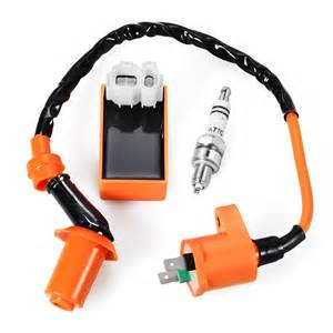 racing performance cdi ignition coil spark for gy6 50 150cc scooter ma589 ebay