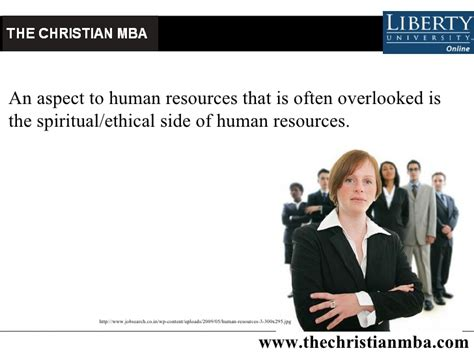 Mba Human Resources Uk by Christian Mba In Human Resources