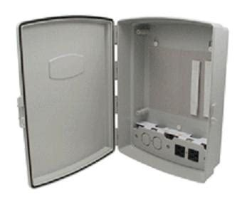 weather proof enclosure with power