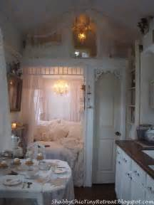 fairytale cottage decorated in shabby chic style