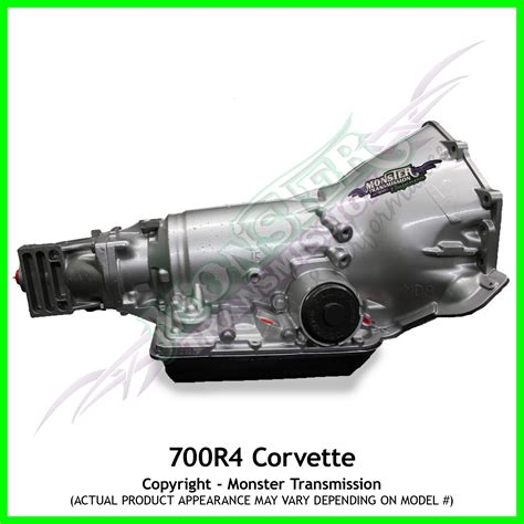 700r4 Transmission Remanufactured Heavy Duty Performance