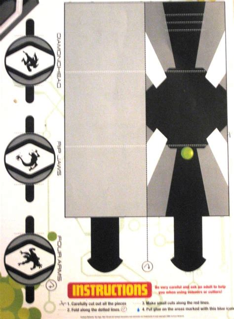 How To Make A Paper Omnitrix - omnitrix pt1 by paperart on deviantart