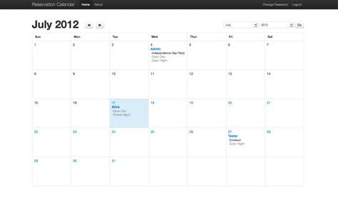 calendar design bootstrap gatehouse web design 183 custom web site design development